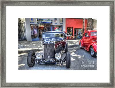 Aloha Cars And Pinups Framed Print