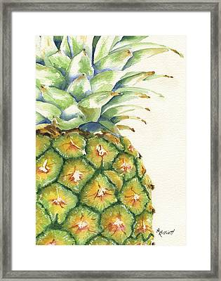 Aloha Framed Print by Marsha Elliott