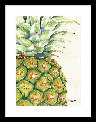 Summer Fruit Framed Prints