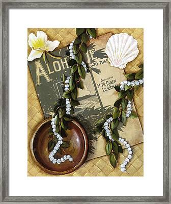 Aloha Oe Framed Print by Sandra Blazel - Printscapes