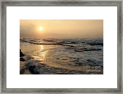 Aloha Oe Sunset Hookipa Beach Maui North Shore Hawaii Framed Print