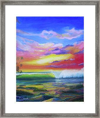 Aloha Reef Framed Print
