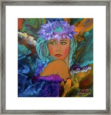 Aloha Two Jenny Lee Discount Framed Print