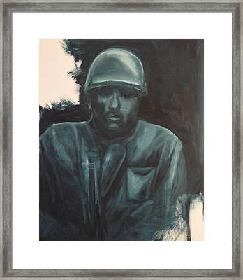 Alone Framed Print by Allen Ferrell