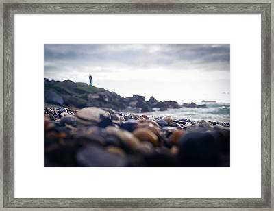 Framed Print featuring the photograph Alone by April Reppucci