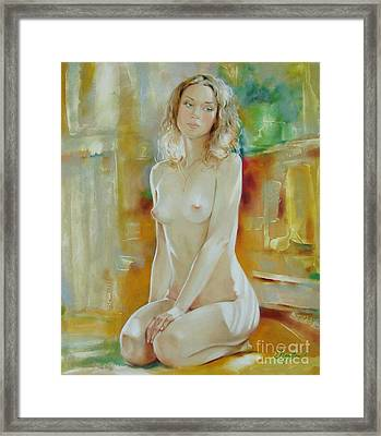 Alone At Home Framed Print by Sergey Ignatenko