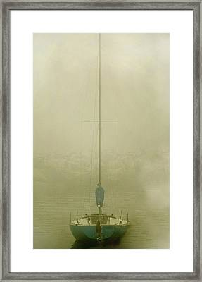 Alone Framed Print by Clyde Replogle
