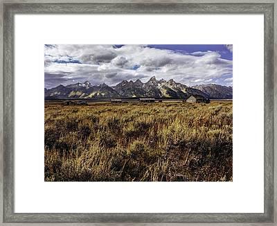 Alone Framed Print by Grant Sorenson
