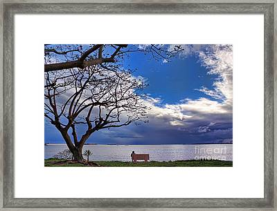Alone Framed Print by Hartono Tai