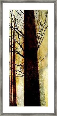 Framed Print featuring the digital art Alone I Stand by Ken Walker