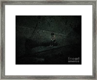 Alone In A Big World Framed Print by Jason Ince