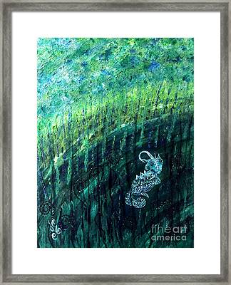 Alone Framed Print by Julie Engelhardt