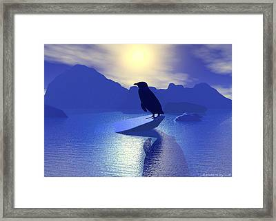Alone Framed Print by Lisa Roy