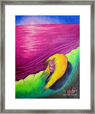 Alone Framed Print