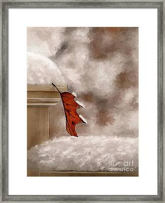 Alone Painterly Framed Print