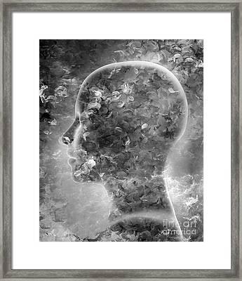 Alone Framed Print by Jacky Gerritsen
