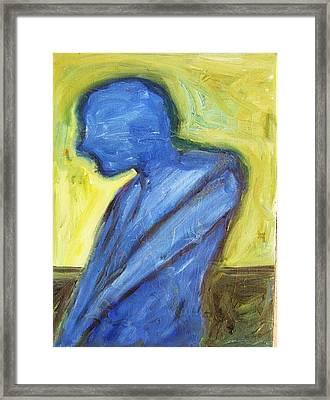 Alone Framed Print by Ron Klotchman