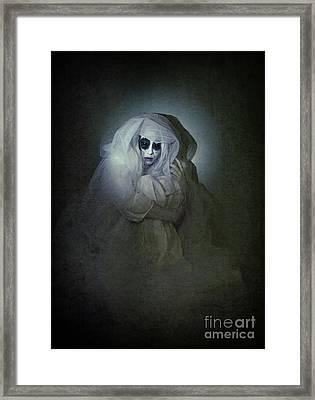 Alone Framed Print by Spokenin RED