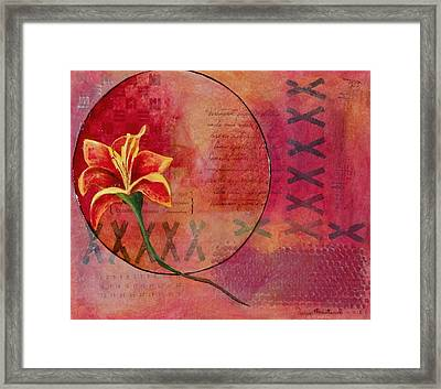 Alone Framed Print by Terry Honstead