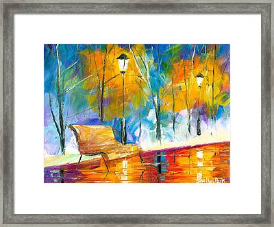 Alone Time Framed Print by Jessilyn Park