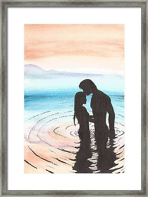 Alone Together Framed Print by Anthony McCracken