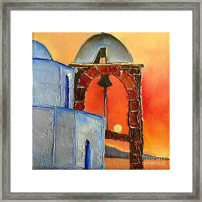 Alone With A Time Framed Print