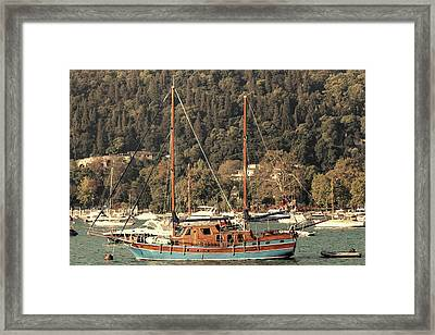 Framed Print featuring the photograph Along The Bosphorus-istanbul by Tom Prendergast