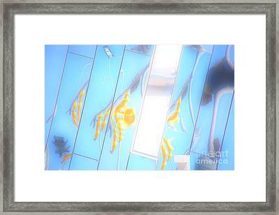 Along Euclid, Cleveland2 Framed Print