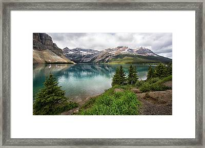 Along Icefields Parkway Framed Print