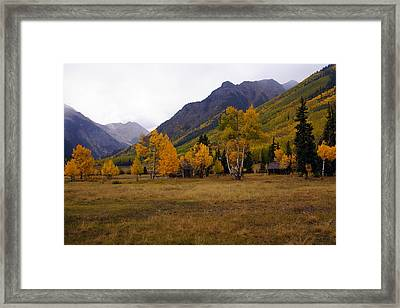 Along The Alpine Loop 2 Framed Print by Marty Koch