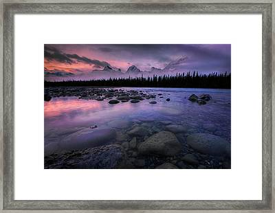 Along The Athabasca Framed Print