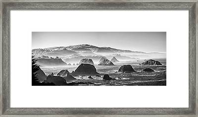 Along The California Coast Framed Print