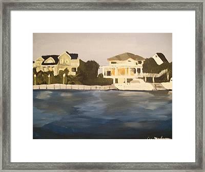 Along The Charleston Sound Framed Print by Casey Bingham