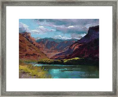 Along The Colorado Framed Print