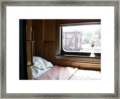 Along The Eastern Shore Framed Print by Robert Boyette