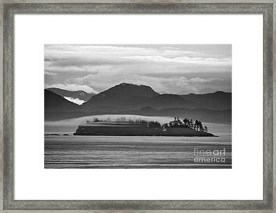 Framed Print featuring the photograph Along The Inland Passage by Stan and Anne Foster