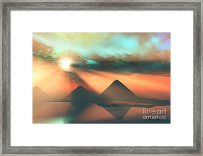 Along The Nile Framed Print
