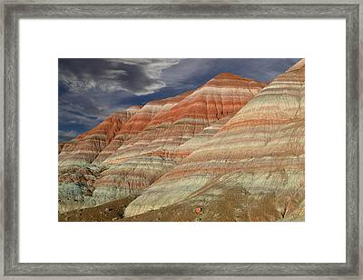 Along The Paria Framed Print