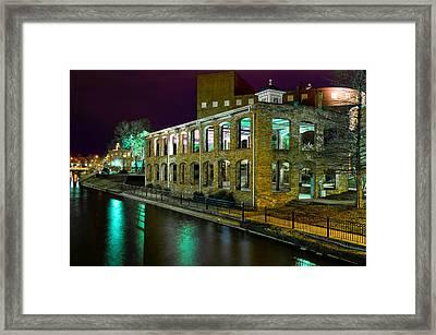 Along The Reedy River Framed Print