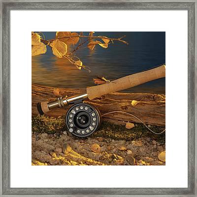 Along The River Framed Print
