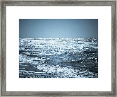 Along The Shore Framed Print by Wim Lanclus