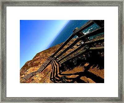 Along The Shoreline Framed Print