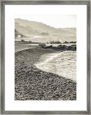 Along The Trabocchi Coast Framed Print