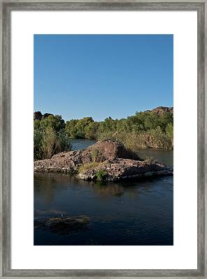 Along The Verde River 3 Framed Print by Susan Heller