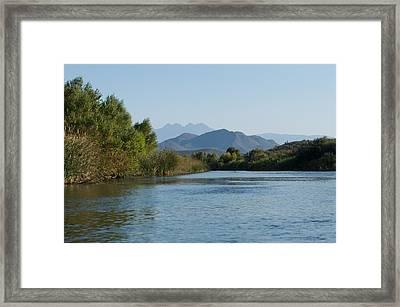 Along The Verde River 6 Framed Print by Susan Heller