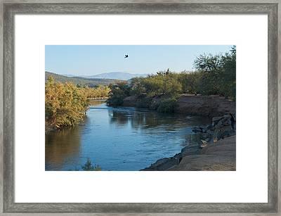 Along The Verde River 7 Framed Print by Susan Heller