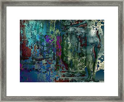 Along The Wall Framed Print by Francis Erevan