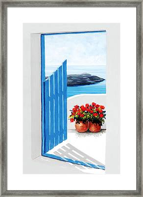 Along The Way Framed Print by Mary Grden's Baywood Gallery