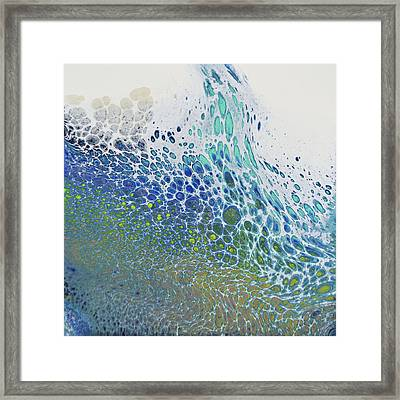 Along The Wish Filled Shore Framed Print