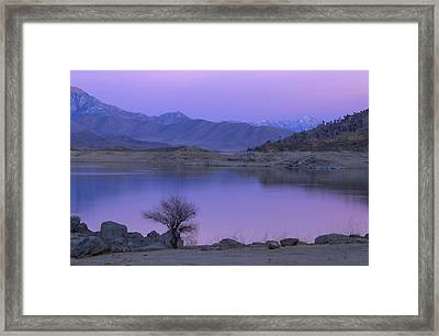 Alpenglow - Lake Isabella Framed Print by Soli Deo Gloria Wilderness And Wildlife Photography